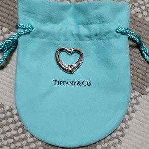 Tiffany heart shaped pendant